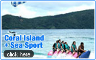 Coral Island and Sea Sport