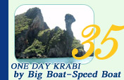 One Day Trip Krabi by Big Boat and Speed Boat