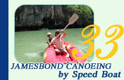 Jamesbond Canoeing by Speed Boat