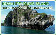 3 Island Khai Lipe and Rung Island Half Day Trip