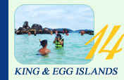King and Egg Islands