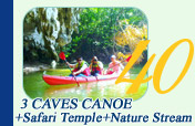 3 Caves Canoe and Safari Temple and Nature Stream