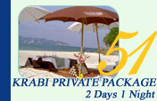 Krabi Private Package 2Days1Night