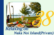 Relaxing on Naka Noi Island Private
