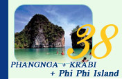PhangNga Krabi and Phi Phi Island Overnight