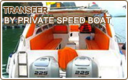 Transfer by Private Speed Boat