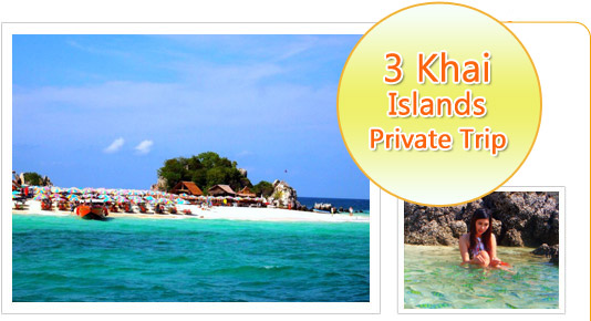 3 Khai Islands Private Trip