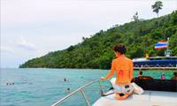 PP Maya Bamboo Island by Speed Boat